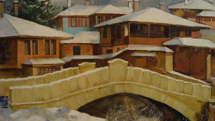 """""""Зимен пейзаж"""" за начало на 2017 г. в Градската галерия"""