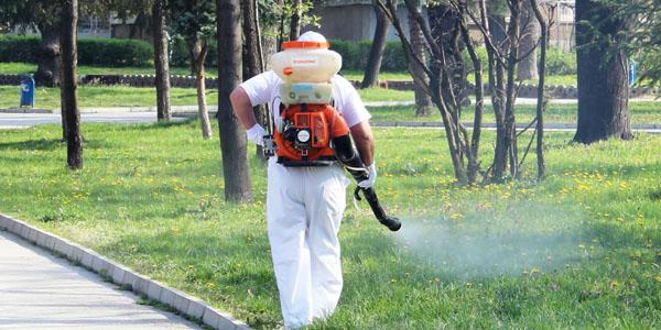 Започва пръскане на тревните площи срещу кърлежи и бълхи