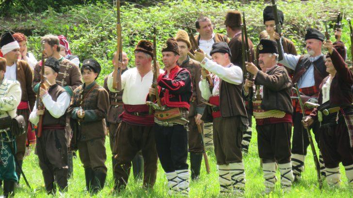 Гръмнаха пушките в Балкана, севлиевци честват 141 години от Априлското въстание в Севлиевския край