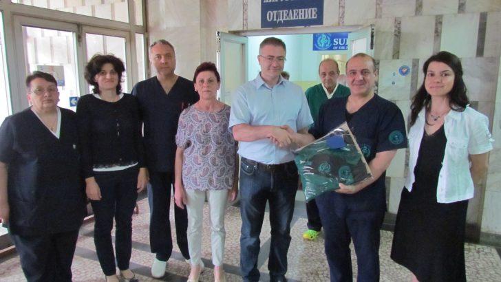 Идеал Стандарт-Видима дари облекло на отделението по Хирургия