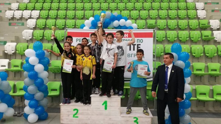 7 златни, 7 сребърни и 4 бронзови медала за таекуондистите