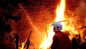 17 животни бяха погълнати от огън, пожарът изпепели плевня в Млечево