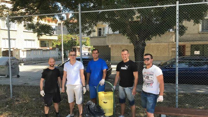 """МГЕРБ-Севлиево се присъедини към кампанията """"Да изчистим България"""""""
