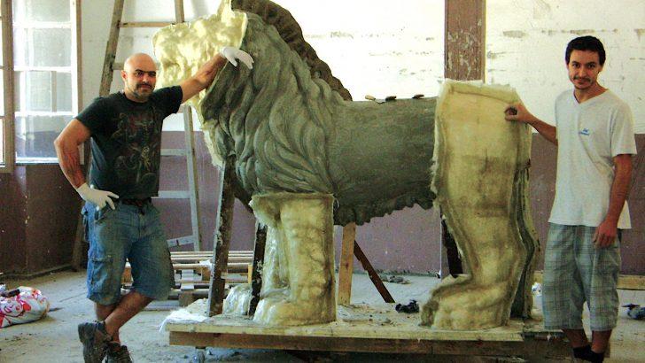 Четирите лъва над река Росица отново ще пазят Севлиево