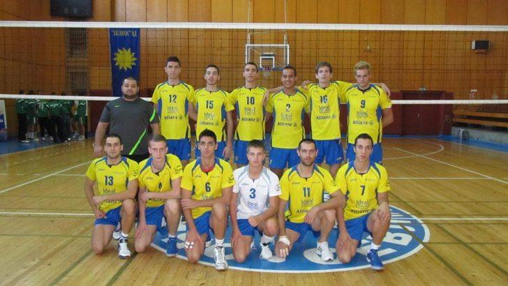 """ВК """"Раковски"""" играе срещу """"Строител"""" в мач от Висшата лига"""