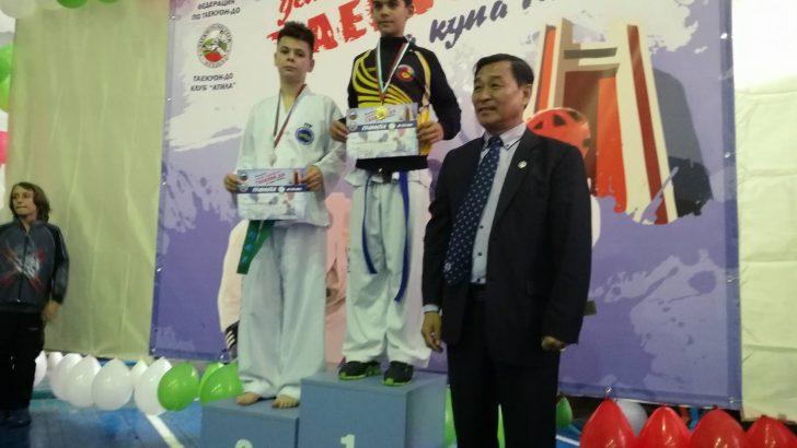 4 златни, 2 сребърни и 2 бронзови медала спечелиха таекуондистите от Плевен