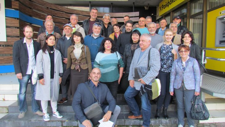 Управителният съвет на Камарата на архитектите в България заседава в Севлиево