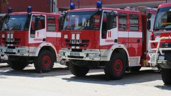 Лек автомобил горя в Севлиево заради техническа неизправност