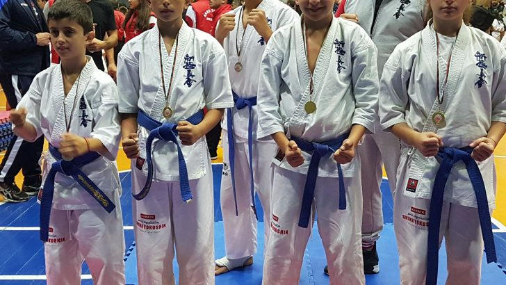 Каратистите спечелиха призови отличия от национално първенство