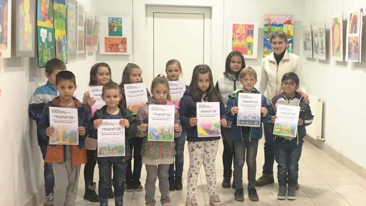 """Наши художници бяха отличени от международния конкурс """"Децата рисуват цветята, морето, света…"""""""