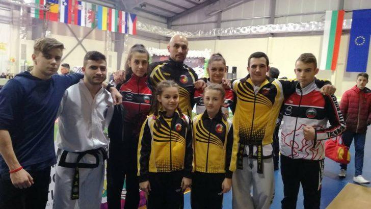 """Седем медала спечелиха таекуондистите от """"България Оупън"""""""