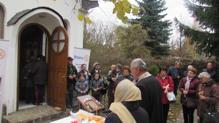 С молебен за здраве и курбан Ротари клуб отбеляза празника на св. Мина