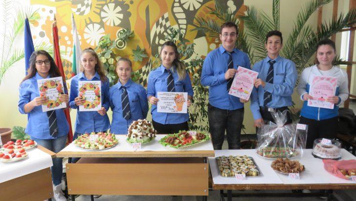 Ученици и учители се предизвикаха на дуел, после твориха кулинарни вълшебства