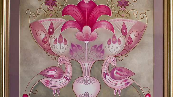 Изложба от цветя, посветена на Ирина, представя галерия Видима