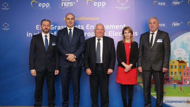 Кметът на Севлиево се срещна с президента на ЕНП Жозеф Дол