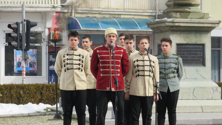 Севлиевци отбелязаха 140 години от Освобождението на България. Честит празник!