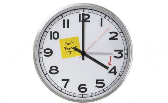 Местим часовника с час напред тази нощ