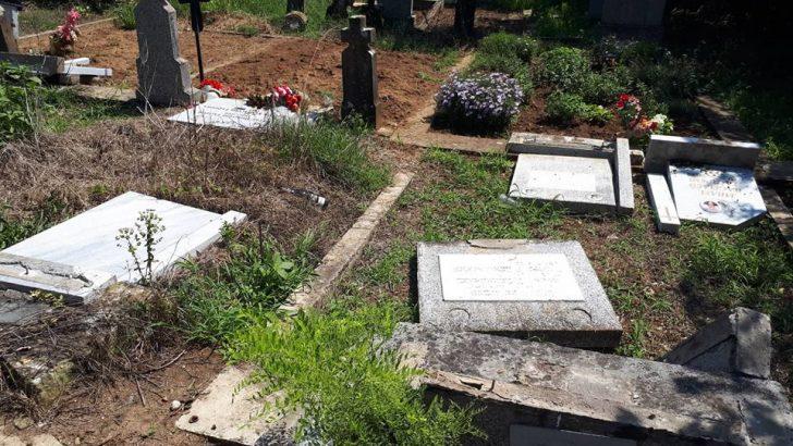 Младежи на 22 и 25 години са осквернили гробищата в Градница