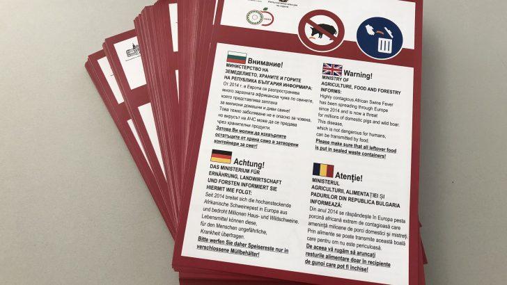 Строги мерки срещу Африканската чума по свинете и в Габровско