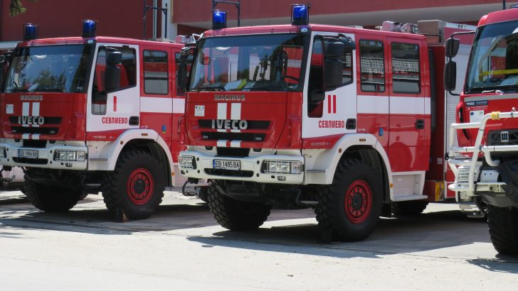 Къща горя в Кормянско