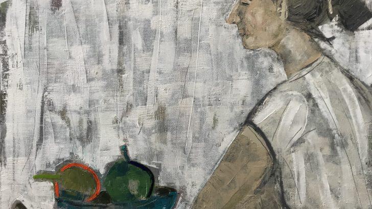 """Изложбата """"Някъде някога"""" на Татяна Харизанова в галерия """"Видима"""""""