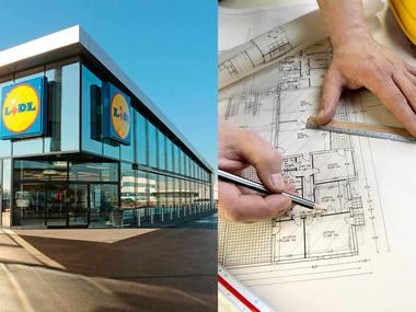 За два дни ще бъде преобразен магазинът на Lidl в Севлиево