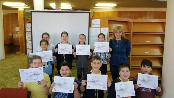 """Четвъртокласник от ОУ """"Стефан Пешев"""" се представи най-добре на обучението по програмиране за деца"""
