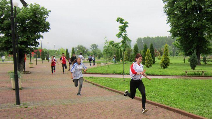 Лекоатлетическа щафета се проведе в Севлиево