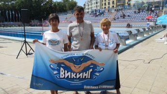 Медали за плувците-ветерани на Държавно първенство
