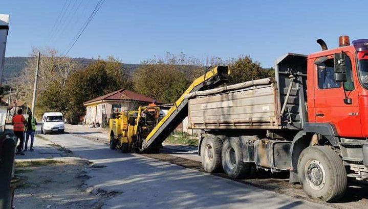 Ремонтират пътя до Хоталич