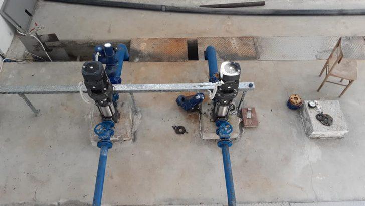Започна реконструкцията на напорния водопровод до село Буря