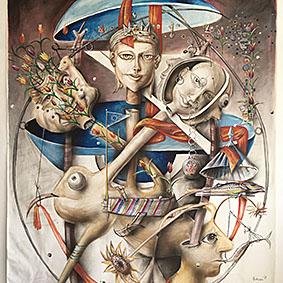 Художникът Николай Панайотов с нова изложба в региона