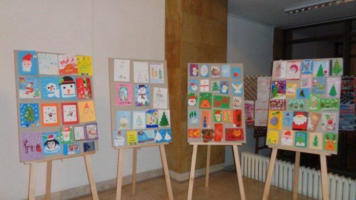 575 творби участваха в конкурса за коледна картичка
