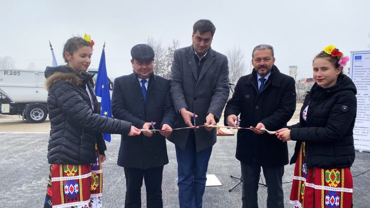 Кметовете на Севлиево, Дряново и Сухиндол откриха системата за разделно събиране и рециклиране на биоотпадъци в Севлиево