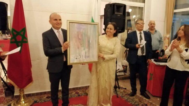 Илхан Кючюк с награда от посолството на Кралство Мароко