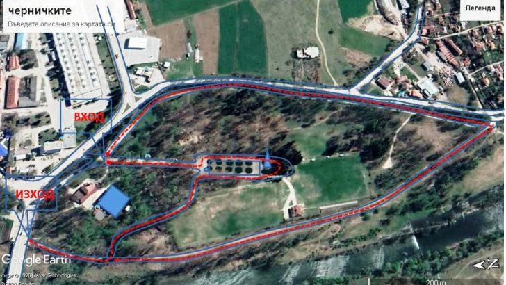 """От днес севлиевци могат да използват парковете """"Казармите"""" и """"Черничките"""" по определен маршрут"""