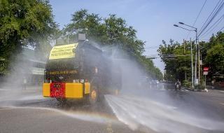 Община Севлиево закупува нова техника за миене на улици
