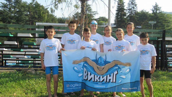 Отлично представяне на плувците ни на държавното в Сандански