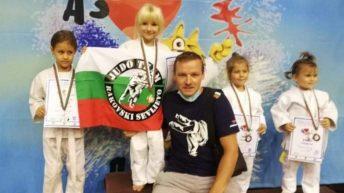 """Четири медала за севлиевските джудисти от турнира """"Кракра"""""""