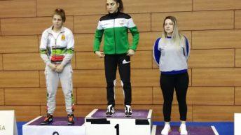 Бронз за Цветомира Стефанова от държавния шампионат по борба