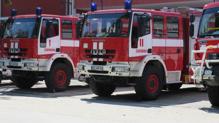 Жена пострада при пожар в Душево