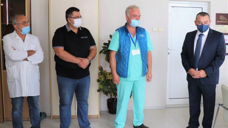 """Областната болница МБАЛ """"Д-р Тота Венкова"""" получи ново дарение от """"Идеал Стандарт – Видима"""""""