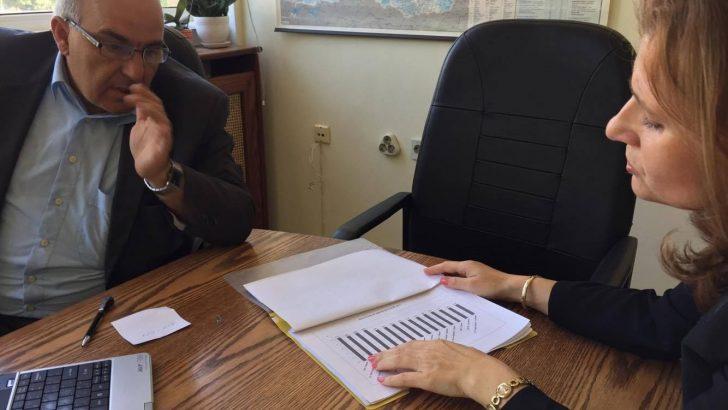 Невена Петкова се срещна с Началника на РУО и Ректора на ТУ-Габрово