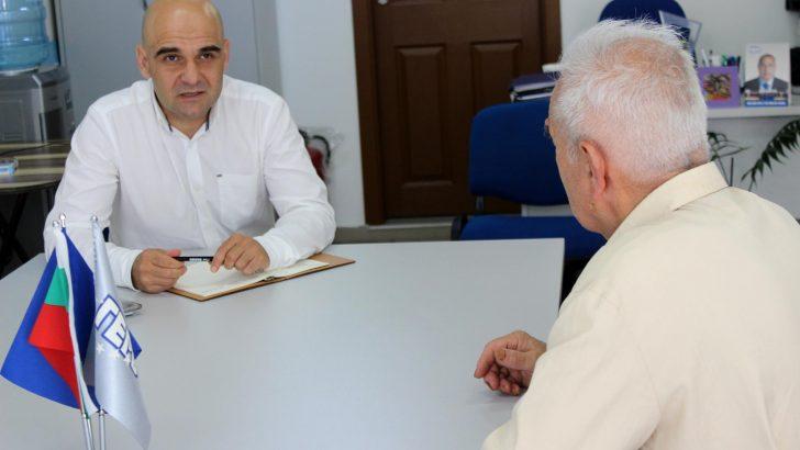 Николай Сираков се срещна с тревненци и с ръководството на Общината