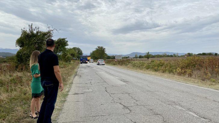 Текат усилени ремонти на участъци от републиканската мрежа в община Севлиево