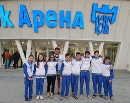 Три медала за Ивайла Йонкова от Sharks swimming Cup Бургас