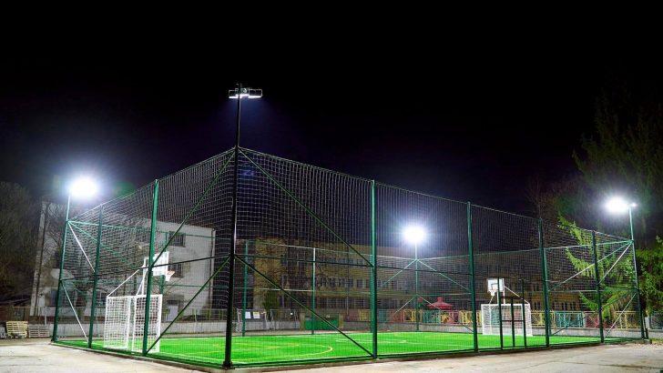 Новото мултифункционално спортно игрище в Севлиево е готово