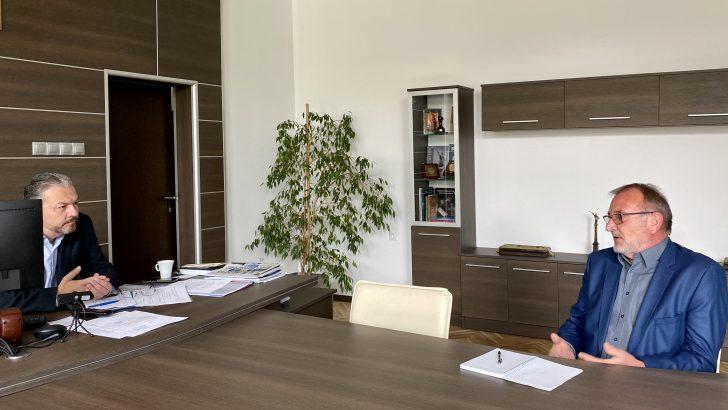 Довеждащия водопровод, изборите и ковид – обстановката обсъдиха областният управител и кметът д-р Иван Иванов